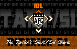 Fantasy Football's AFC Interior D-Lineman Championship WK16 Start/Sits