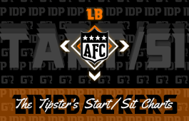 Fantasy Football Rankings WK13 AFC Linebacker IDP Start/Sit Charts