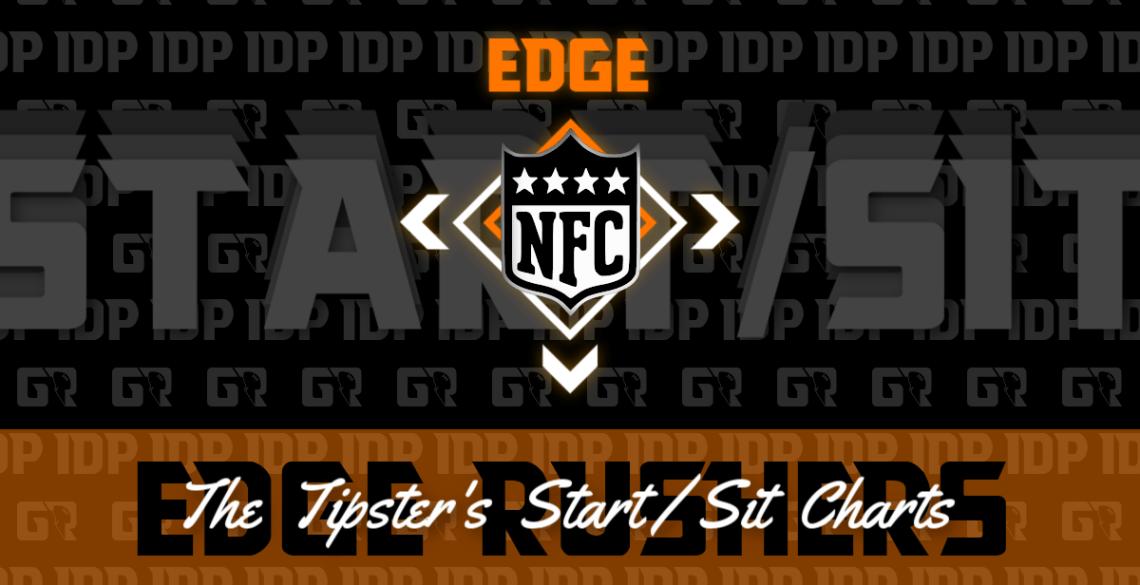 Fantasy Football WK15 Ranking AFC Edge Rusher IDP Start/Sit Charts