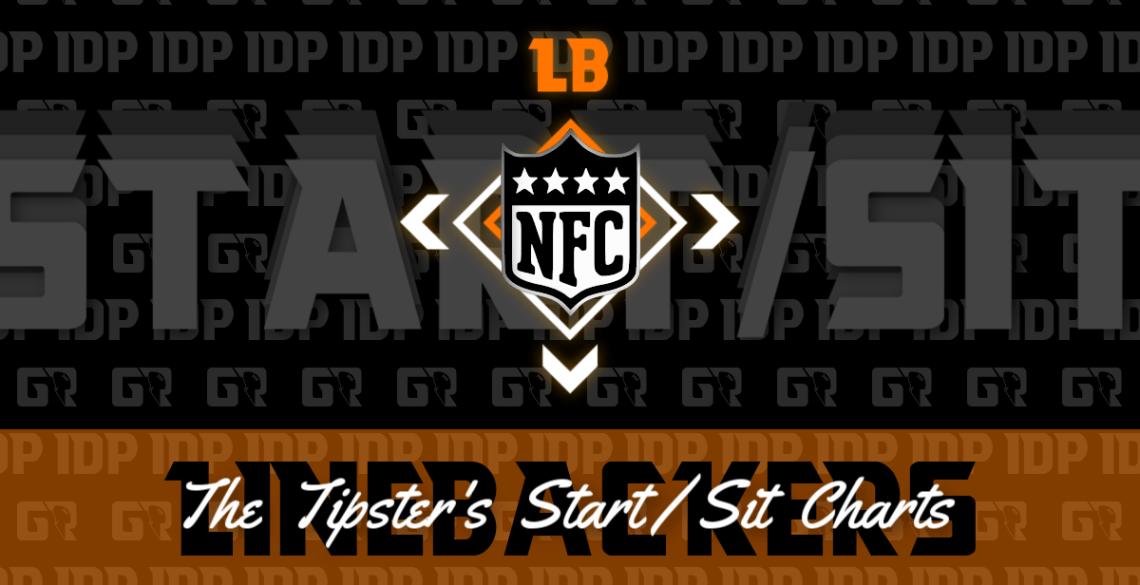 Fantasy Football's NFC Linebacker Championship WK16 Start/Sit Chart