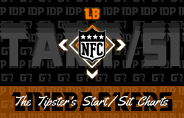 WK13 Fantasy Football Linebacker Rankings NFC IDP Start/Sit Charts