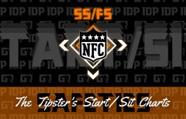 WK13 Fantasy Football Rankings NFC Safety IDP Start/Sit Charts