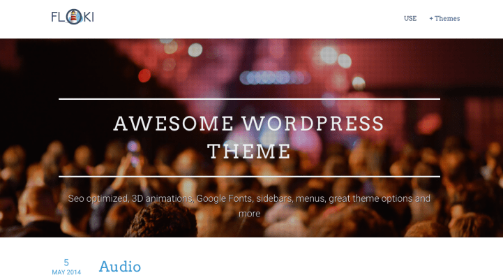 Floki WordPress Theme Screenshot