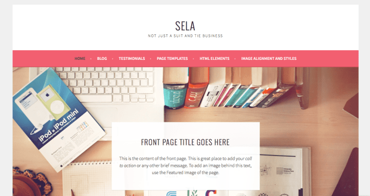 Sela WordPress Theme Screenshot