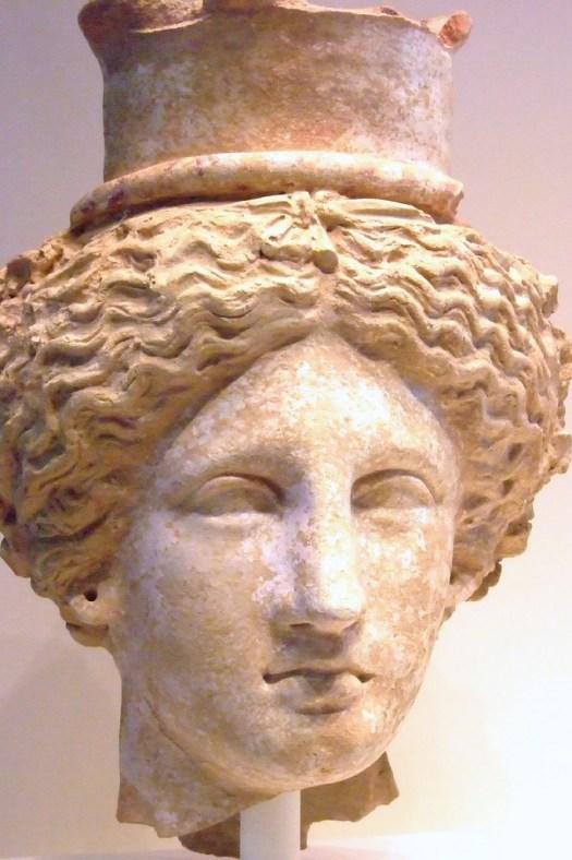 Teracotta head of Demeter or Kore (Persephone), Sicily.  .jpg