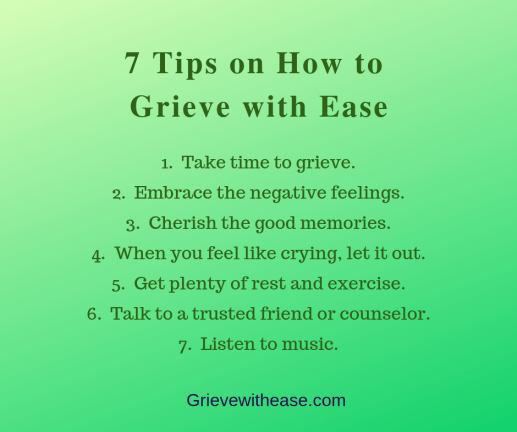 7 Grieving Tips