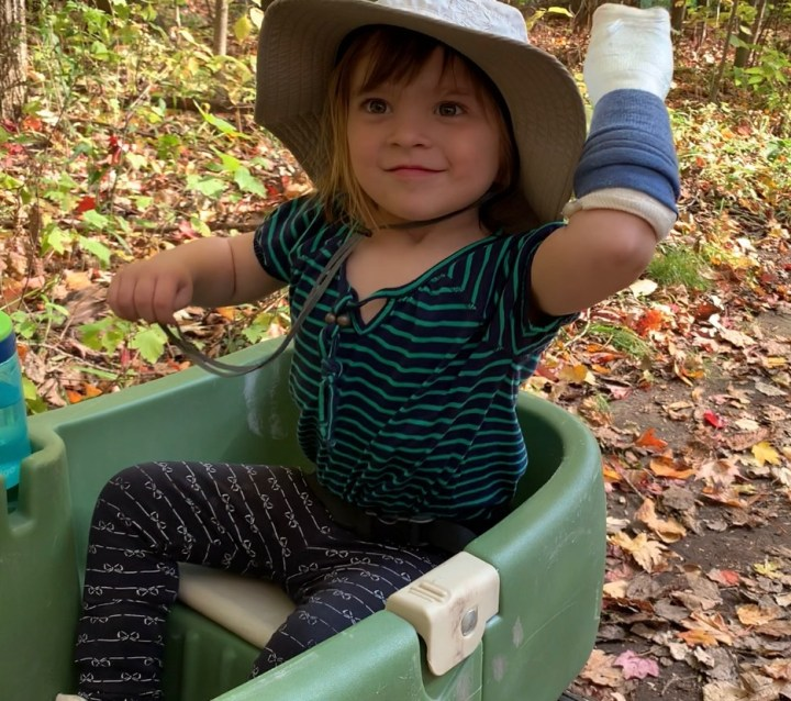 Adélie's Therapy – CIMT after a Brain Injury