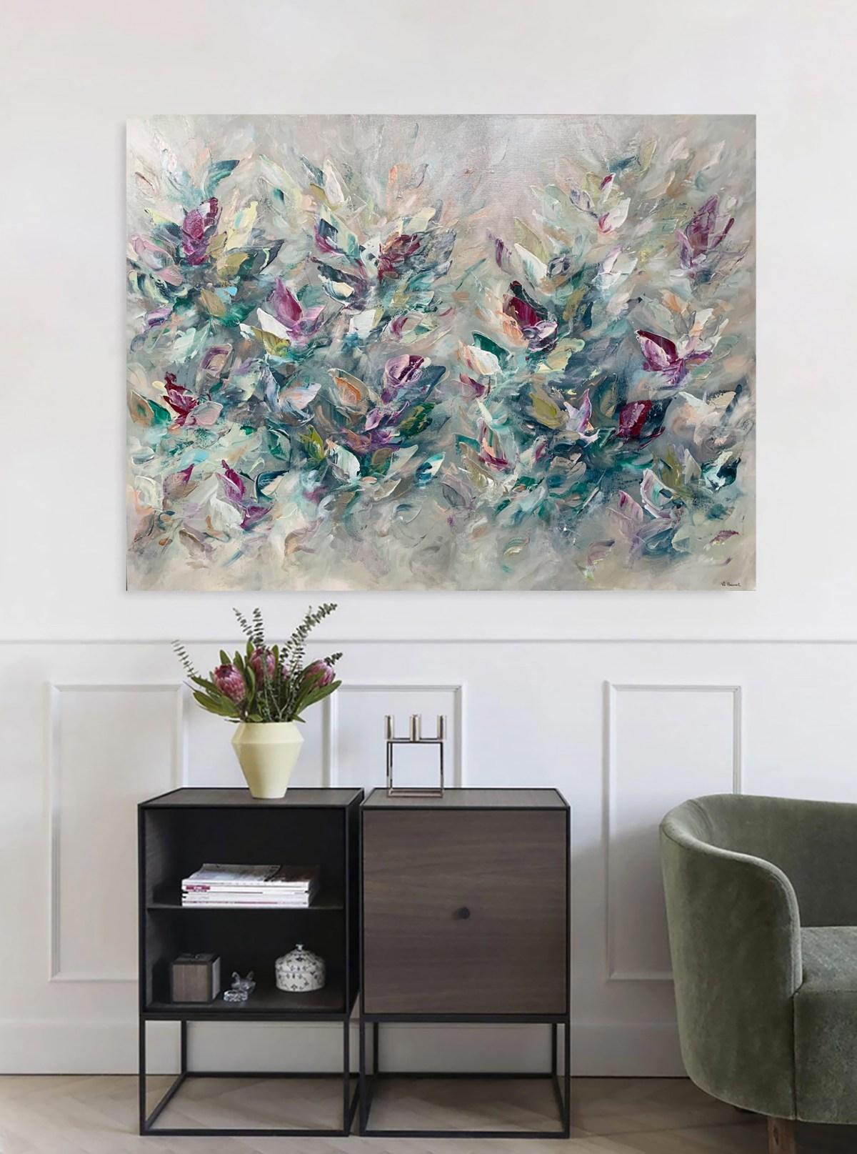 Vé Boisvert Art Painting Toile Zackaël