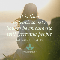how to be empathetic with grieving parents
