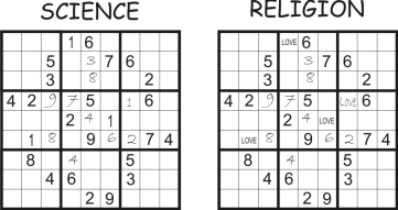 science and religion sudoku