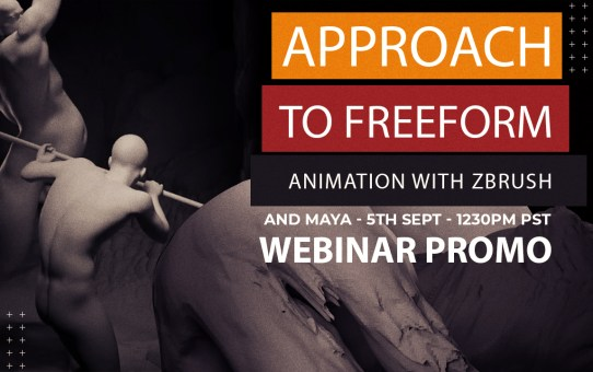 Approach to Freeform Animation with Zbrush and Maya -Webinar Promo-Coming Soon
