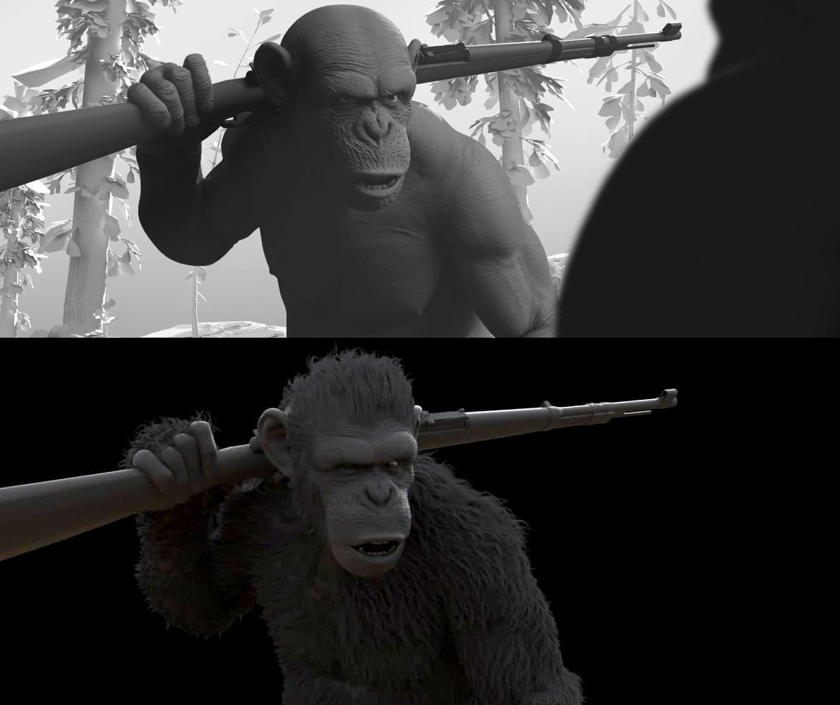 ape groom no groom v004