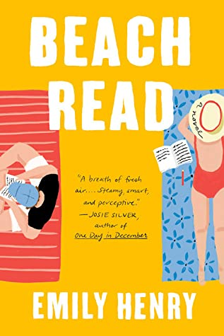 "Book jacket cover image for ""Beach Read""."