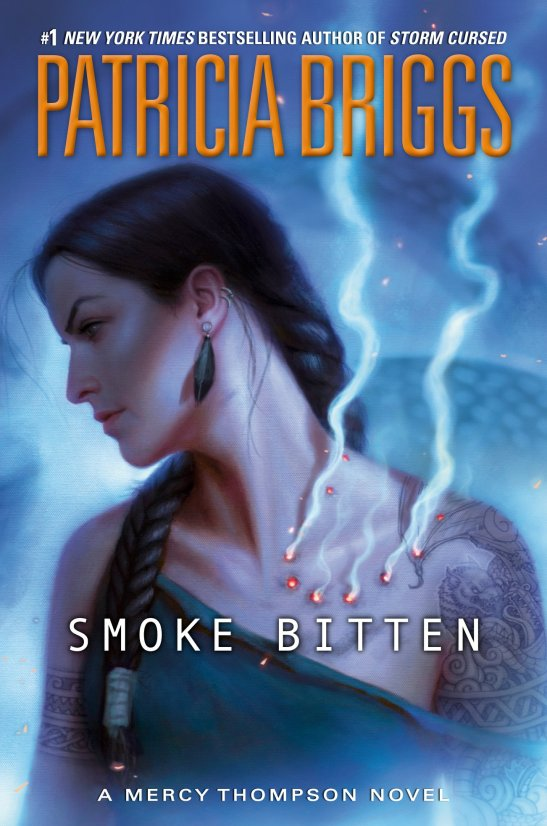 """Book jacket cover image for """"Smoke Bitten""""."""