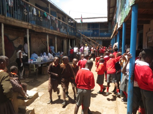 The Magoso School and orphanage.