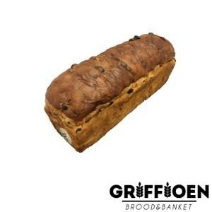 Griffioen Brood en Banket - rozijnen brood met spijs
