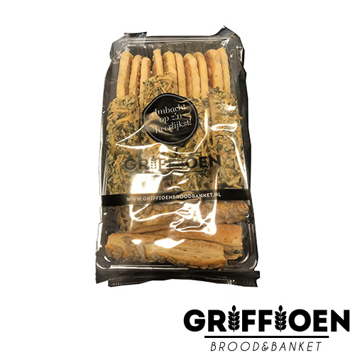 Griffioen Brood en Banket zoute koekjes gesorteerd