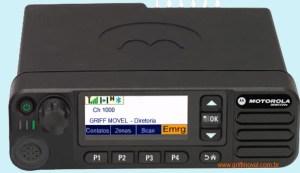 Transceptor Motorola Digital VHF DGM5500e