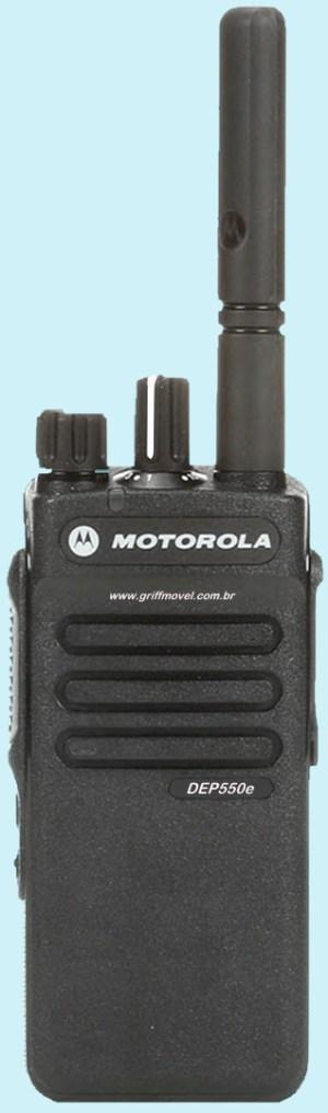 DEP550E Rádio Motorola Temos Laboratório