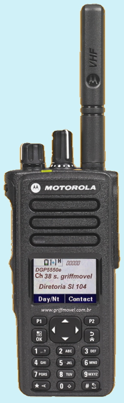 Rádio Motorola DGP5550e Conserto Técnico Especialista