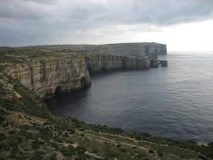 Ta Cenc cliffs on Gozo