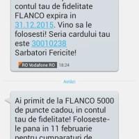 Care este valoarea punctului de fidelitate Flanco?