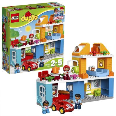 LEGO Duplo Town Family House Building Blocks