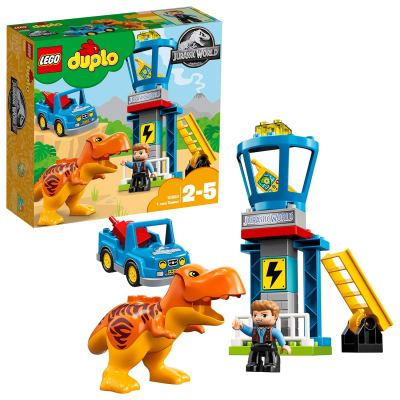 LEGO Duplo Jurassic World T.Rex Tower Building Blocks