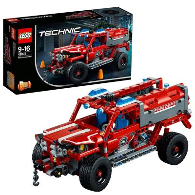 LEGO Technic First Responder Jeep Building Blocks for Boys