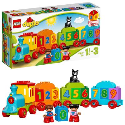 LEGO Duplo Number Train Building Blocks for Kids