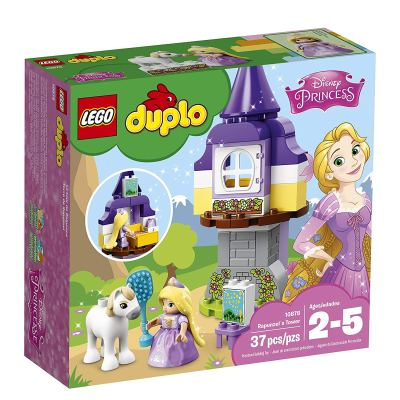 LEGO Duplo Princess Rapunzel's Tower Building Blocks