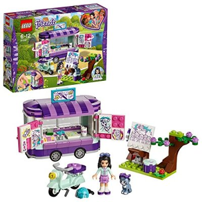 Lego Friends Emma's Creative Art Stand Building Blocks