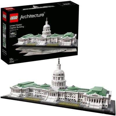 LEGO Architecture United States Capitol Building Blocks