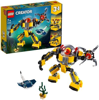 LEGO Creator Underwater Robot Building Blocks