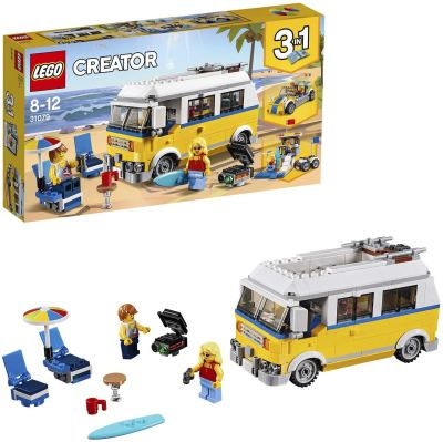 LEGO Creator 3in1 Sunshine Surfer Van Building Blocks