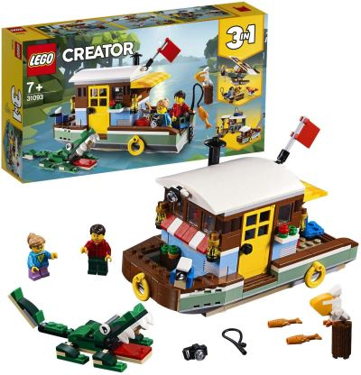 LEGO Creator Riverside Houseboat Building Blocks