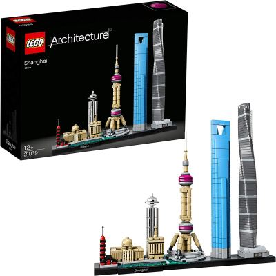 LEGO Architecture Shanghai Building Blocks