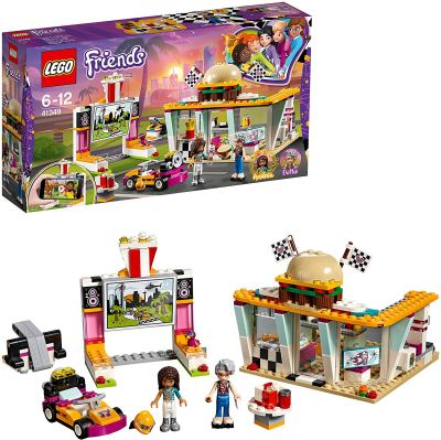 Lego Friends Andrea's Drifting Diner with Go Kart Building Blocks