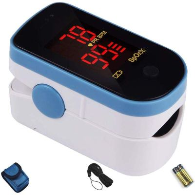 CHOICEMMED Sky Blue Finger Pulse Oximeter