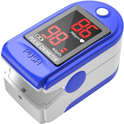 Metene Pulse Oximeter Fingertip, Oxygen Saturation Monitor