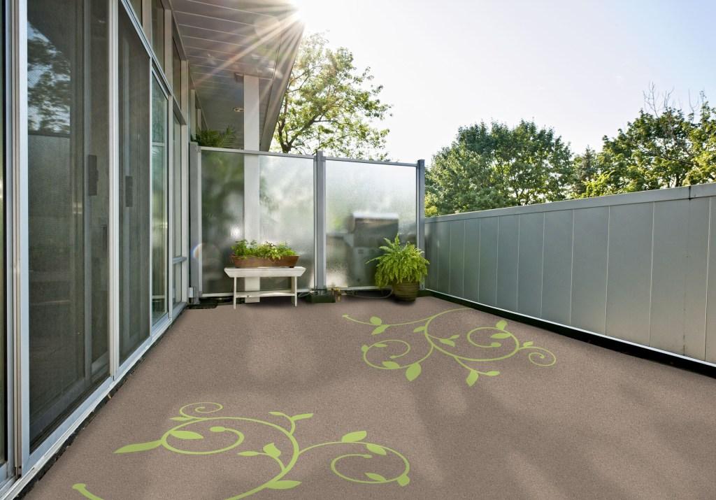 Starker Auftritt: Verschiedene Materialien, Farben und Muster bieten zahlreiche Gestaltungsmöglichkeiten für Balkon oder Terrasse.