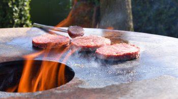 Wildschweinburger auf dem Grill - Wild auf dem Grill