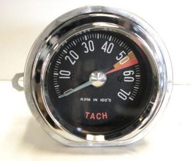 1959 Corvette Tachometer Low Redline