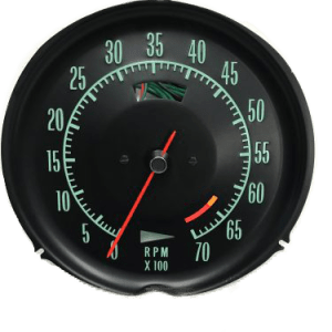 1969-1971 Corvette Tachometer