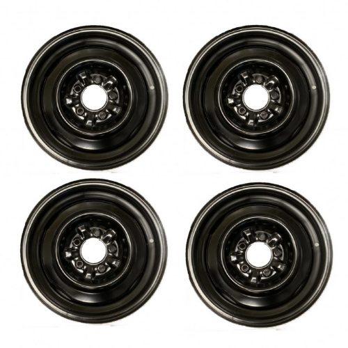 1965-1966 Corvette Steel Wheel Set