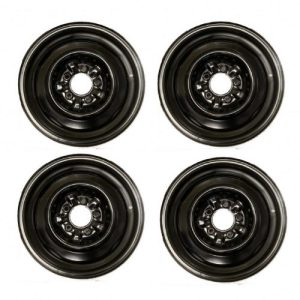 1965-1966 Corvette Steel Wheel Set