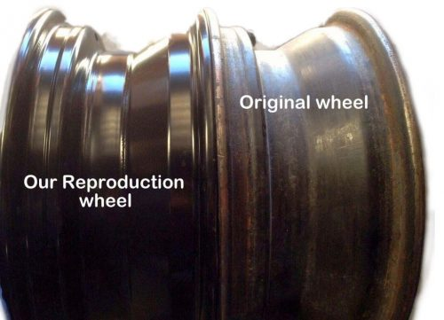 1963-1964 Corvette Steel Wheel Original and Repro