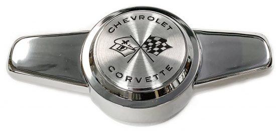 1956-1962 Corvette hubcap spinner 1