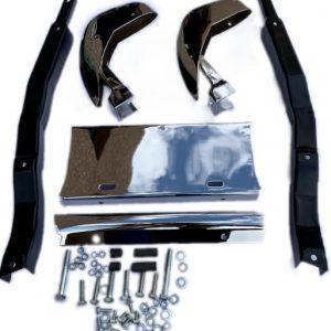 1958-1962 Corvette Front License Bracket Assembly