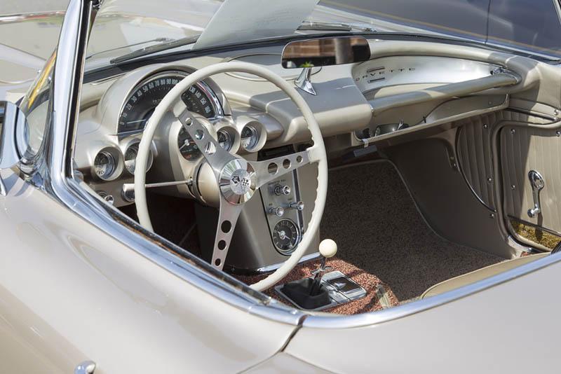 1958-1962 Corvette Dash Inserts